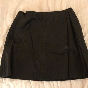 Vince Camuto Faux Leather Skirt Size 10